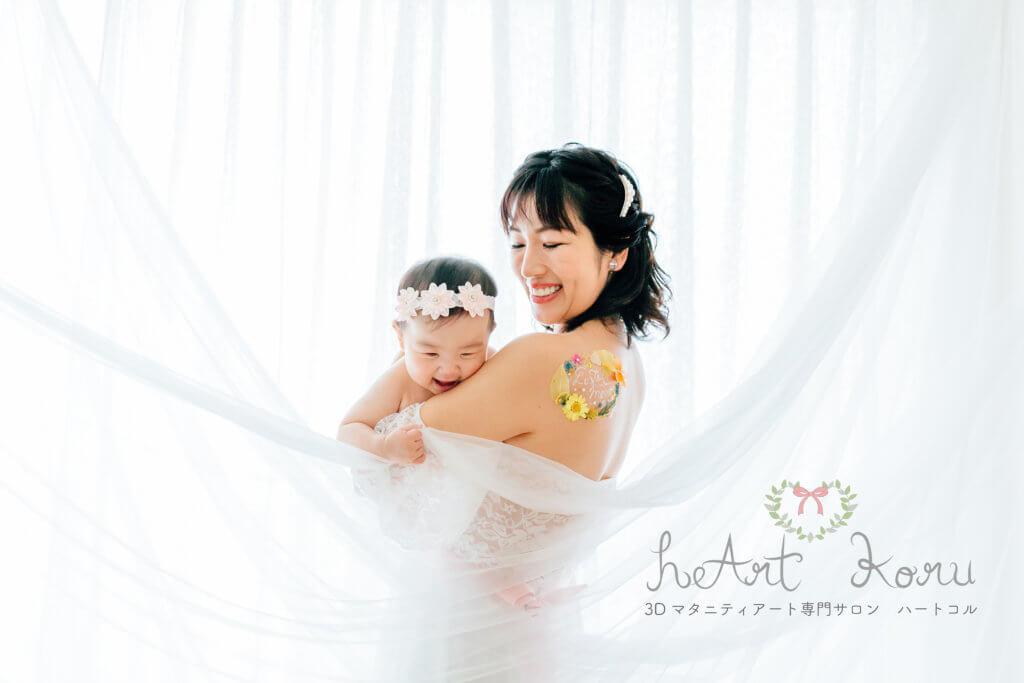授乳フォト ベビーフォト 授乳ペイント 東京 おしゃれ 可愛い